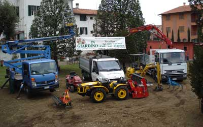 Lavori di giardinaggio zona Pisa Livorno Lucca Empoli Firenze