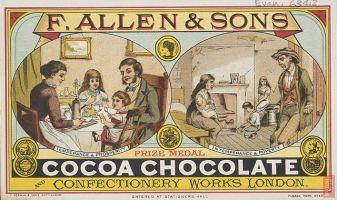 Anuncio de Cocoa 1880