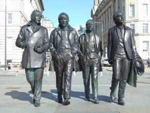 Estatua de los Beatles