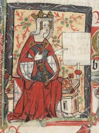 Retrato de Matilde de Inglaterra