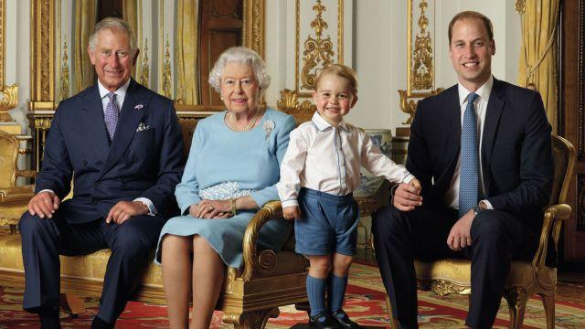 Linea de sucesion monarquia Inglesa