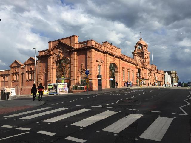 Nottingham estacion de trenes
