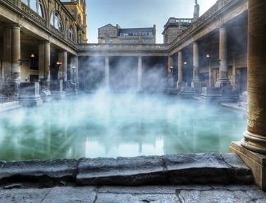 Piscina descubierta en Bath