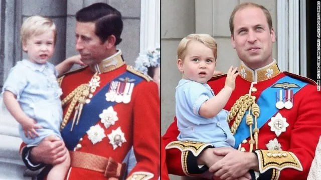 Principe William y Principe Carlos