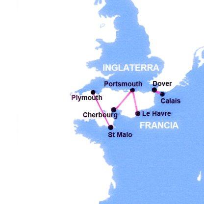 Rutas Ferry Francia Inglaterra