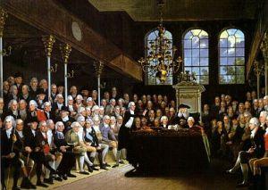 Reunión en la Cámara de los Comunes