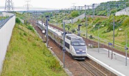 Tren Francia Inglaterra