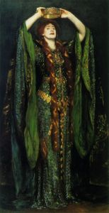 Ellen Terry as Lady Macbeth, by John Singer Sargent, 1889.