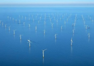 Sheringham Shoal wind farm. Here there be sea monsters (okay, seals). Photo by Mike Page.