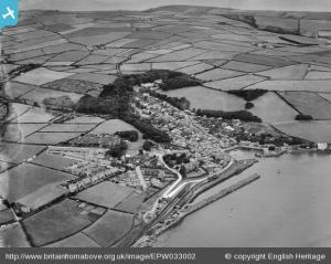 Padstow, Cornwall. July 1930.