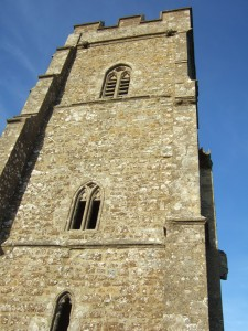South-east face of the tower.