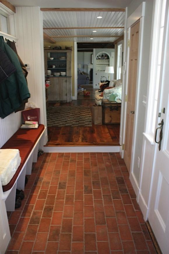 Entryways and hallways  Inglenook Brick Tiles  Brick Pavers  Thin Brick Tile  Brick Floor Tile