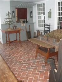 Sunrooms - Inglenook Brick Tiles - Brick Pavers   Thin ...