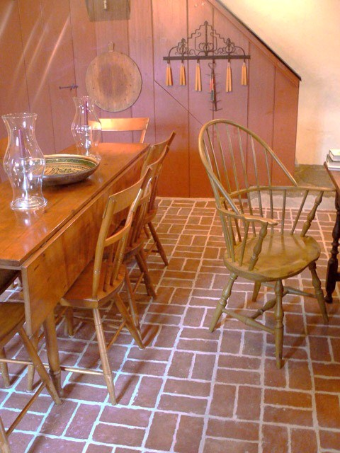 Dining Rooms  Inglenook Brick Tiles  Brick Pavers  Thin