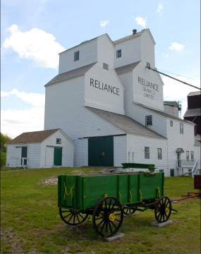 Reliance Elevator - Inglis Grain Elevators National Historic Site