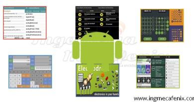 Aplicaciones de electrónica
