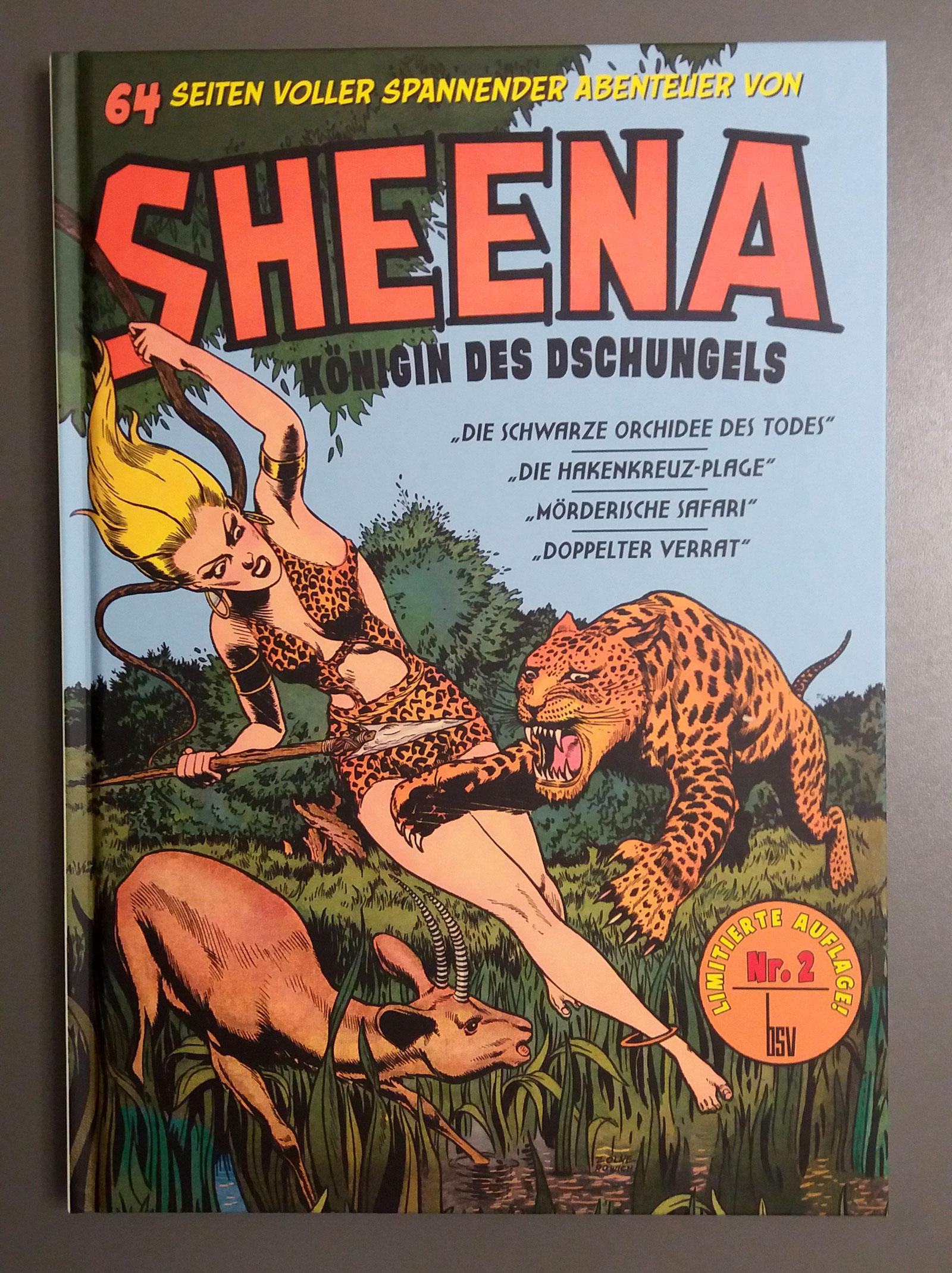 Sheena Nr.2 – Königin des Dschungels