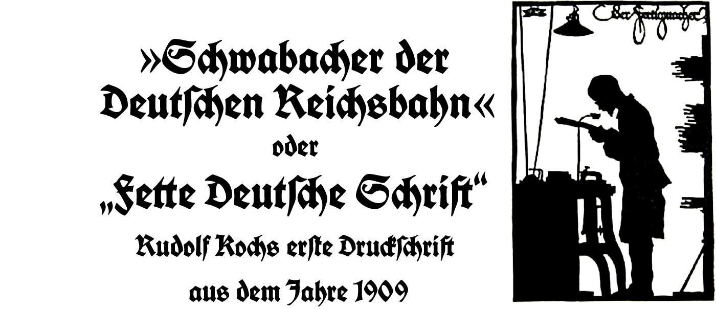 ingoFonts KochSchrift