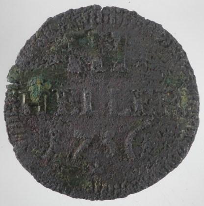 1736 - 3 Heller Sachsen-Hildburghausen (Ernst Friedrich II) 1
