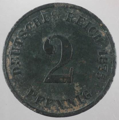 1875 - 2 Pfennig E 1