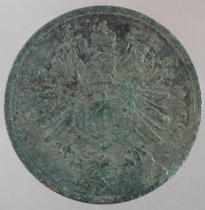 1889 - 1 Pfennig D 2