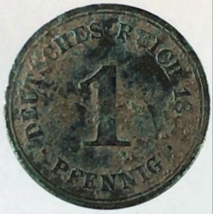 18xx - 1 Pfennig A