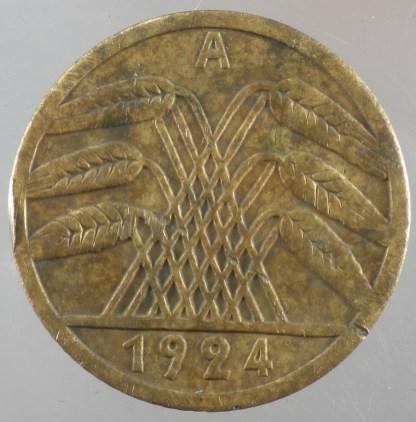 1924 - 5 Rentenpfennig A 2