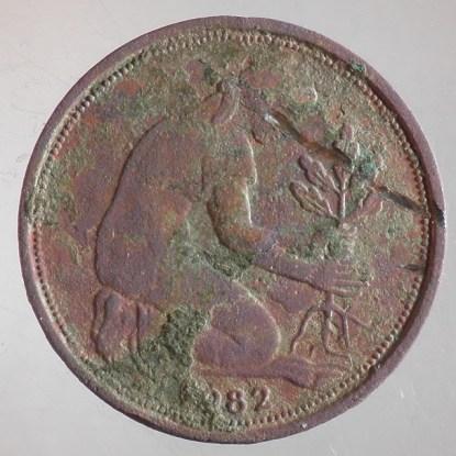 1982 - 50 Pfennig D 2