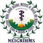 NEIGRIHMS recruitment 2016 2017 Senior Resident Doctor 52 posts