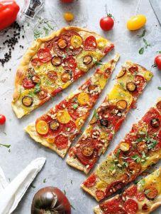 Pizza vegana en inGracia