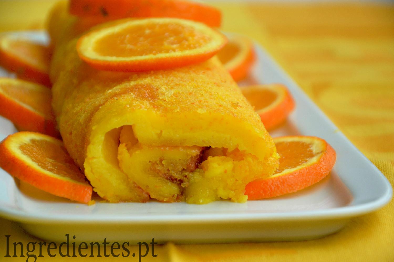 Receita Torta de Laranja Gulosa  Ingredientes