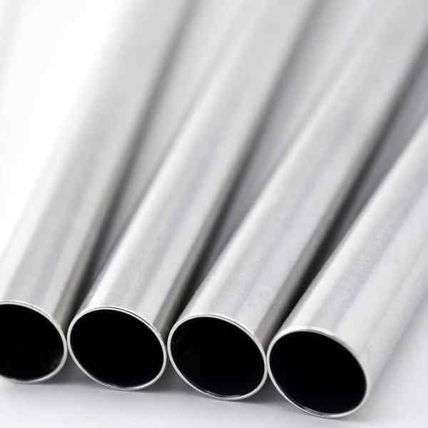 Stainless Steel Straws x 4