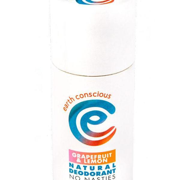Earth Conscious Grapefruit & Lemon Natural Deodorant