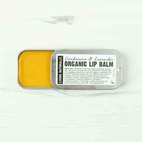 Living Naturally Organic Lip Balm Lavender