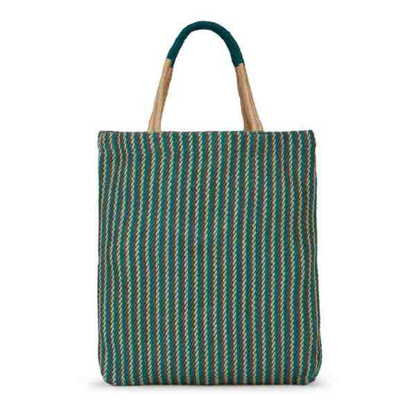Turtle Bag Jute Green