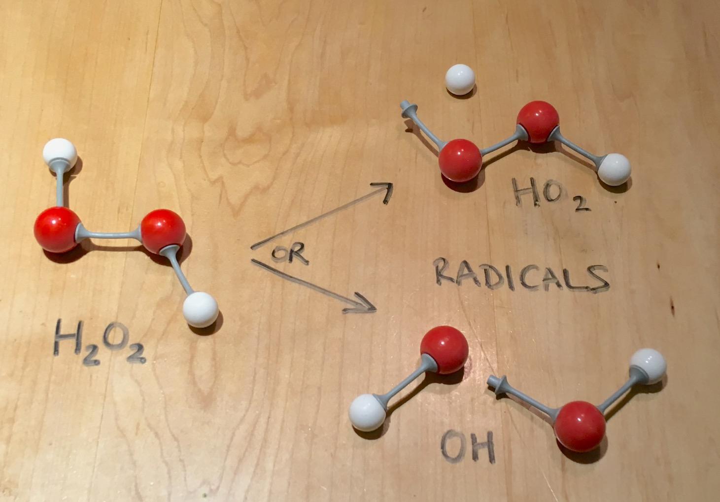 Hydrogen Peroxide Chemistry Ingridscience Ca