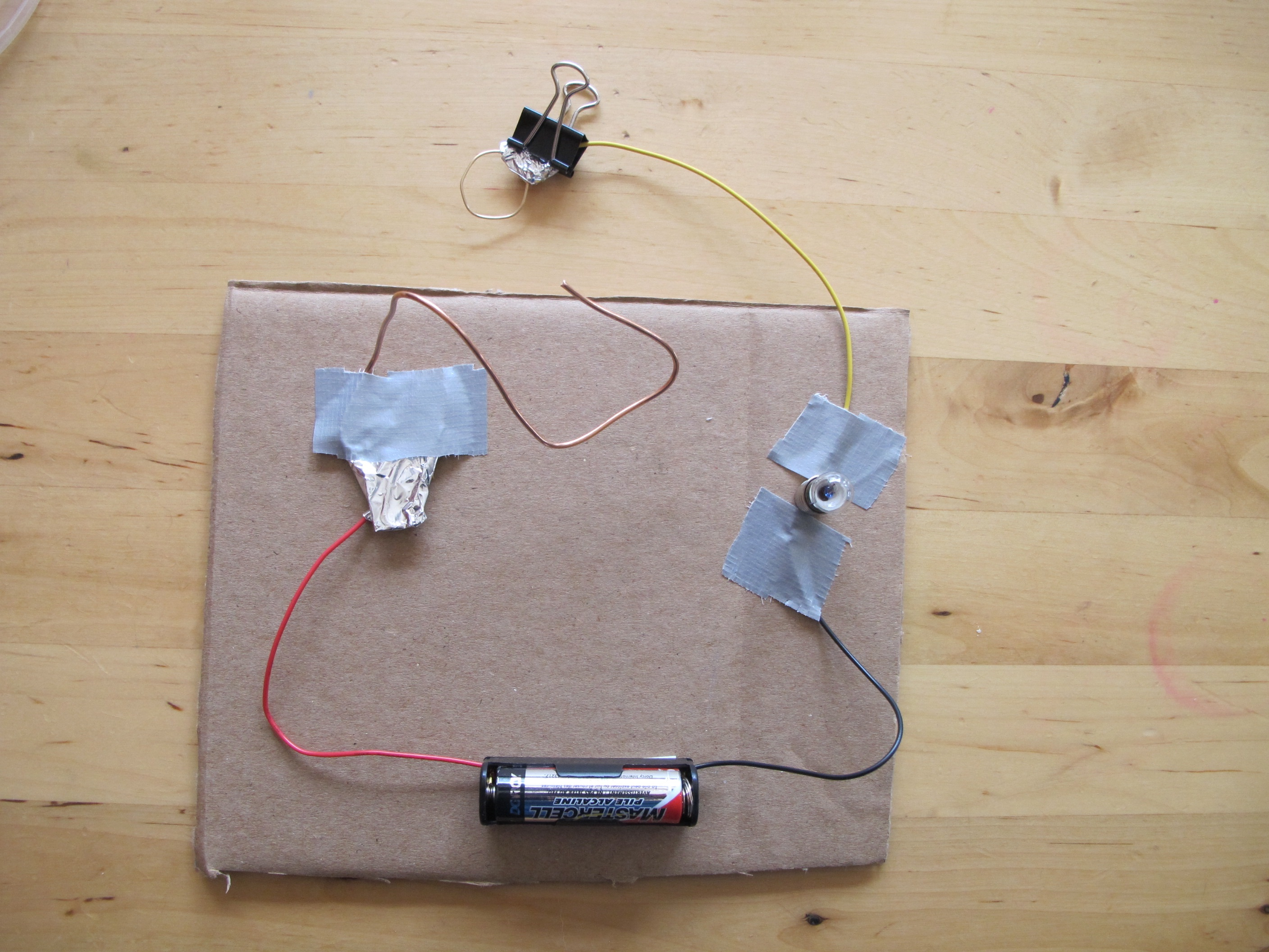 Electric Circuit Steady Hand Game