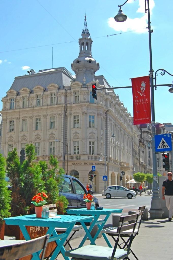 One day in Bucharest, Romania