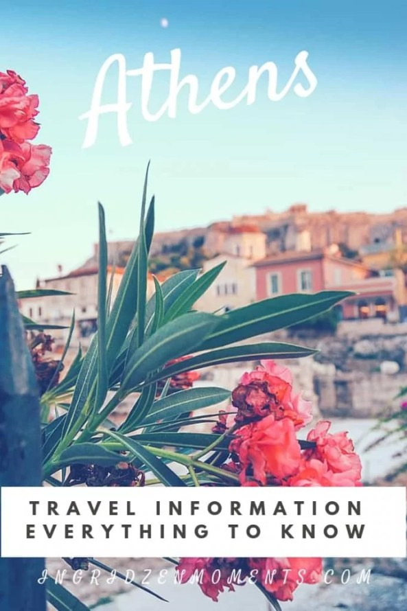 Athens travel information