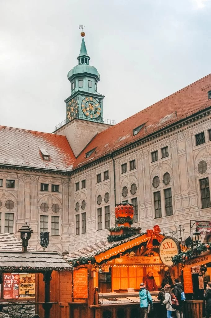 Munich Christmas Market picture diary