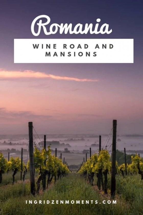 Romanian wine road Prahova