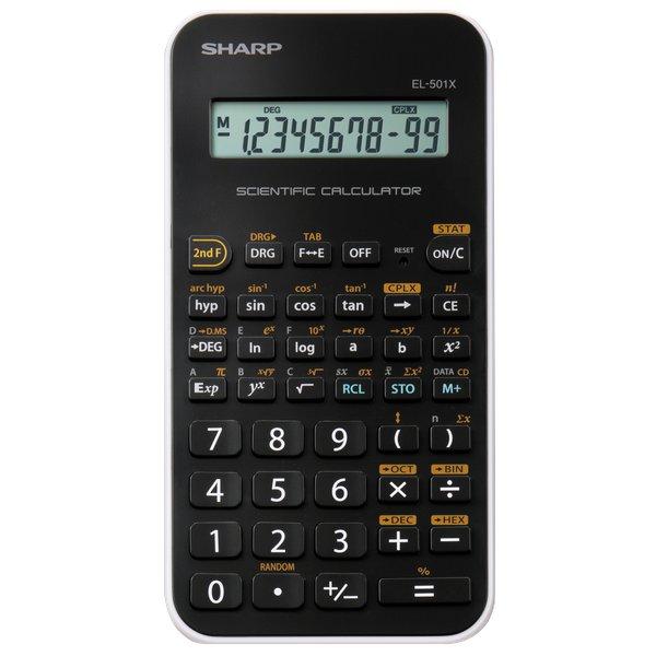 Calcolatrice scientifica Sharp  EL501WBWHEL501xBWH