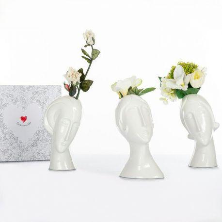 Zhangcheng vaso decorativo di design angolato moderno ornamento stile nordico ceramica vaso decorativi vasi moderni da interno in ceramica vaso semplice e. Vasi Da Interno A Forma Di Viso Moderni Design Cuorematto Doni Bomboniere