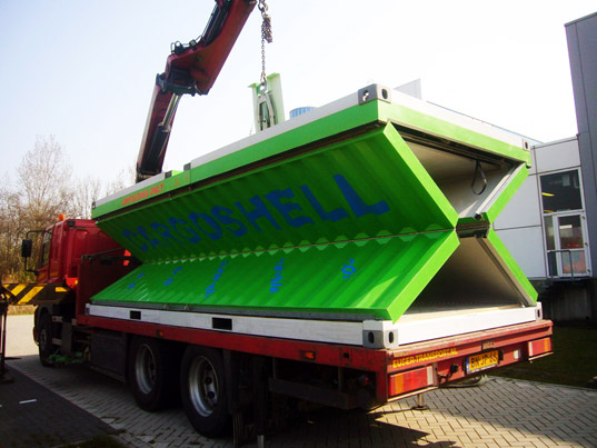 sustainable design, green design, cargoshell, shipping container, green design, eco design, co2 emissions, carbon dioxide