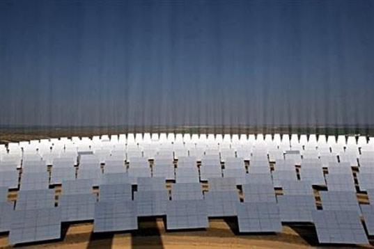 arizona solar, abengoa solar, solar power plant, world's largest solar, largest solar plant, Solana, Phoenix solar power, municipal solar power, CSP technology, concentrating solar power