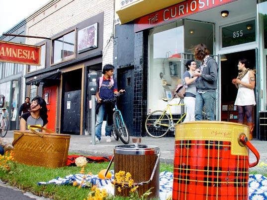 parking day 2009, sustainable design, urban space, rebar, park(ing) day, public art, niche spaces, landscape architecture