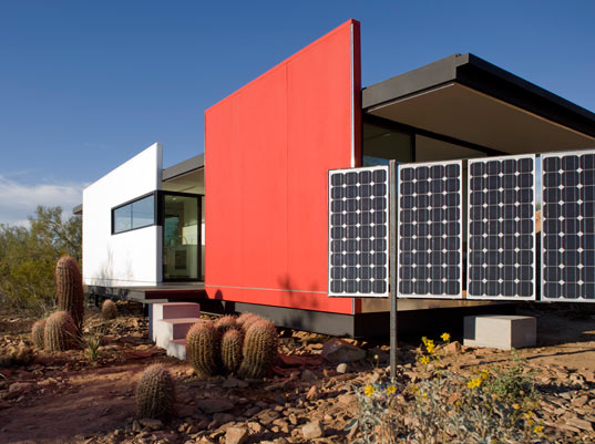 PreFab Modern, Jennifer Siegal, Taliesin West, PrairieMod, Sustainable Building, Office of Mobile Design