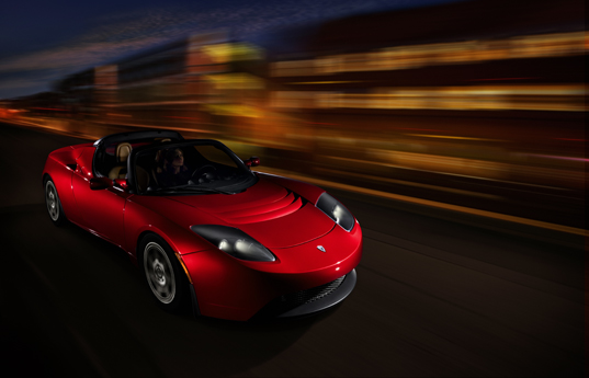 tesla roadster electric battery vehicle car automotive sustainable energy