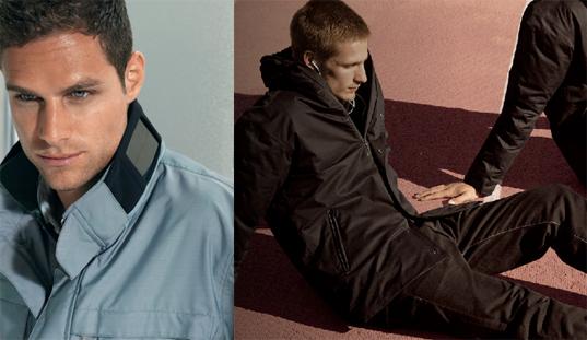 zegna solar powered jacket eco fashion, solar fashion, solar jacket, sustainable style, zegla solar jacket, zegna solar, green fashion, solar panel jacket
