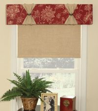 14 Easy No Sew Valance Tutorials | Inhabit Zone